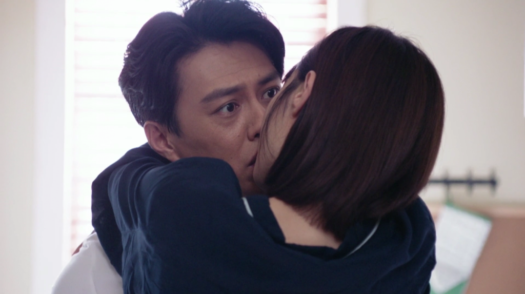 Without giving Zhuang Shu any more time, Chen Xi swoops in and plants a kiss on our hero.